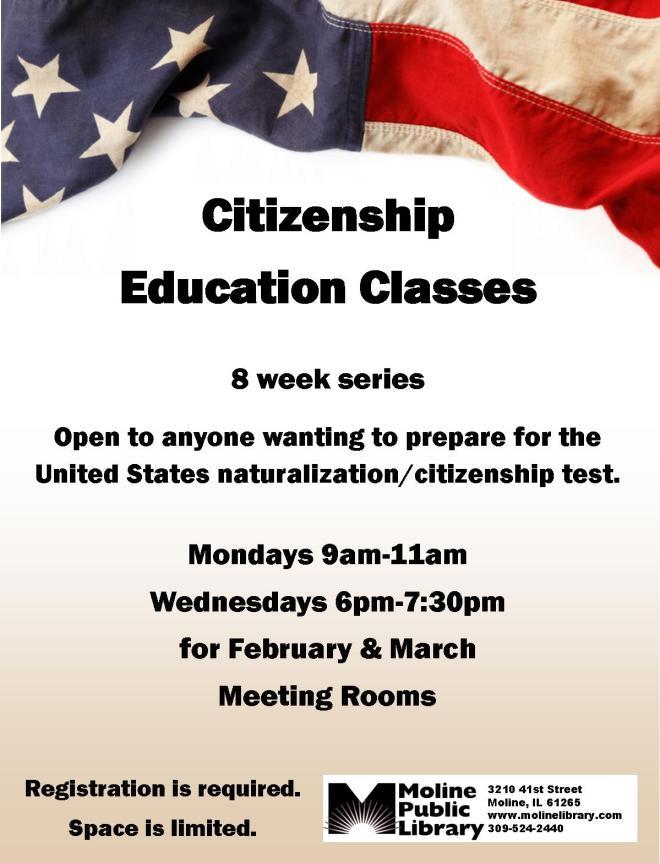 Citizenship Education Classes