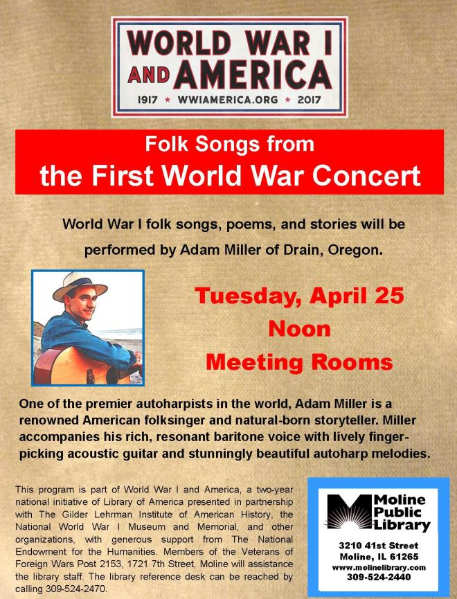 WWI Folk Songs