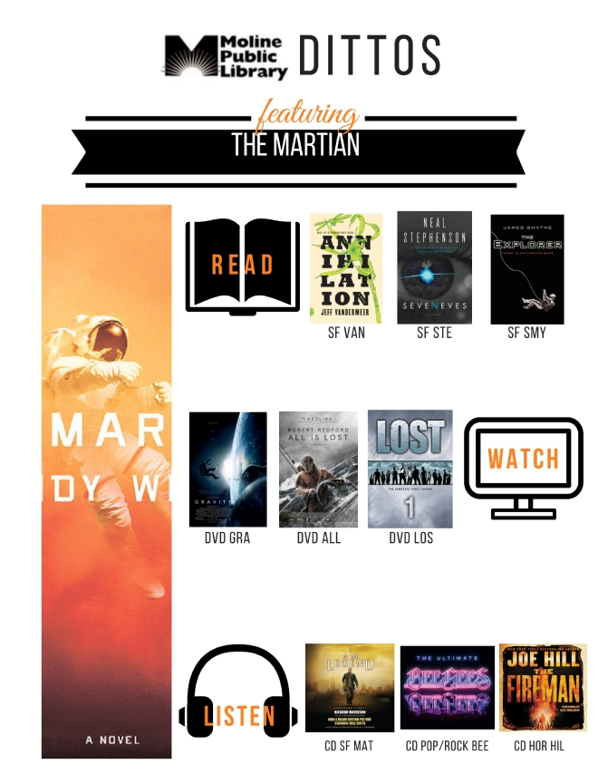 The Martian Shelf End Ditto