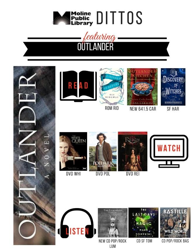 Outlander Shelf End Ditto