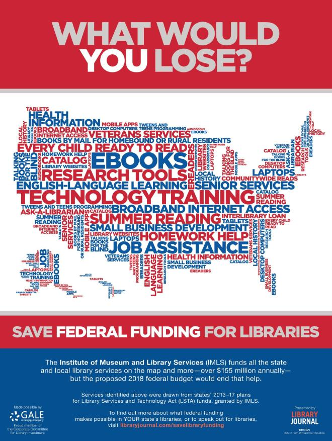 Library Advocacy Poster