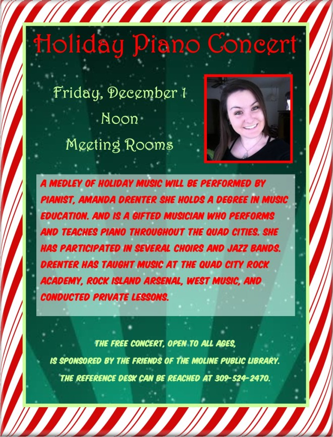 holiday piano concert