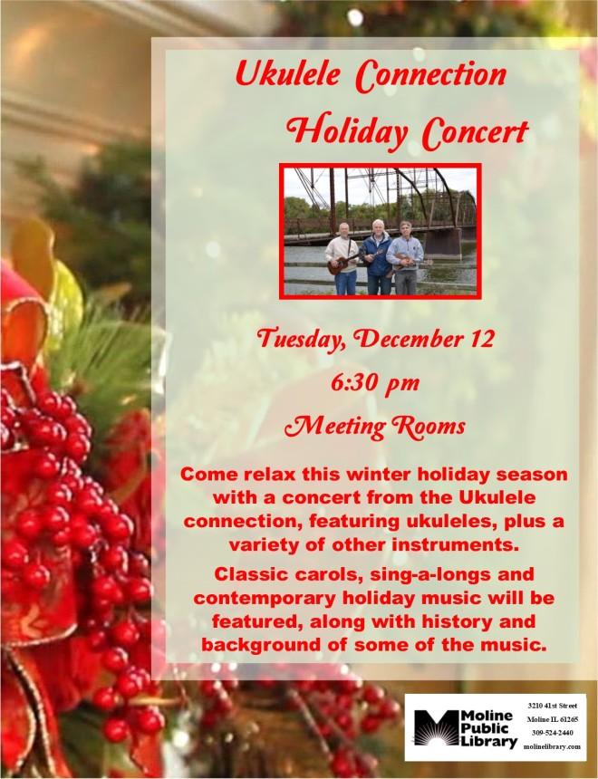 ukulele connection holiday concert