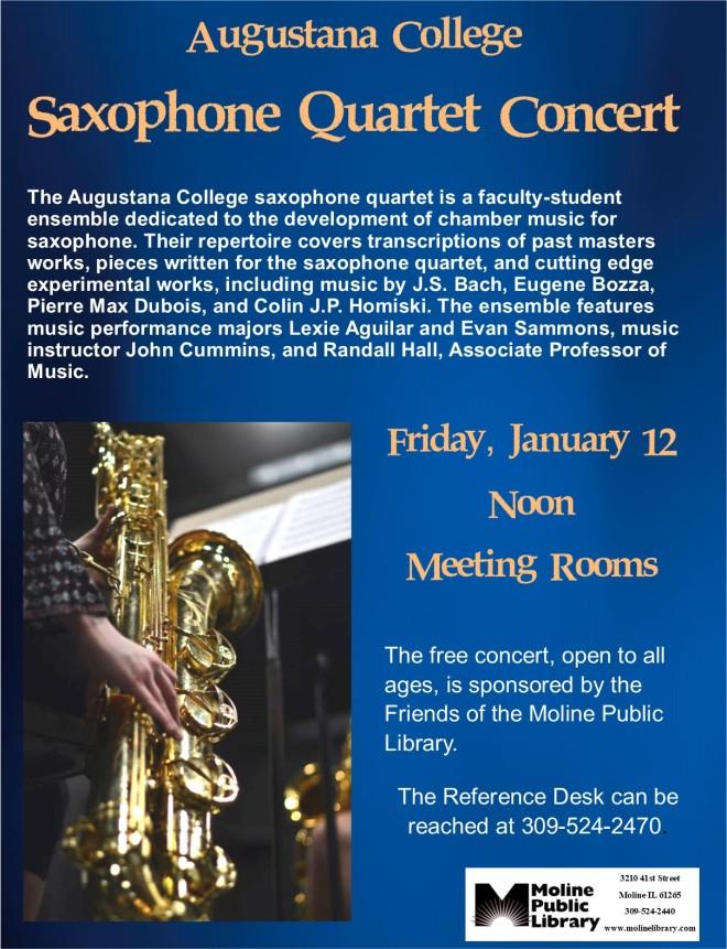 augustana college saxophone concert