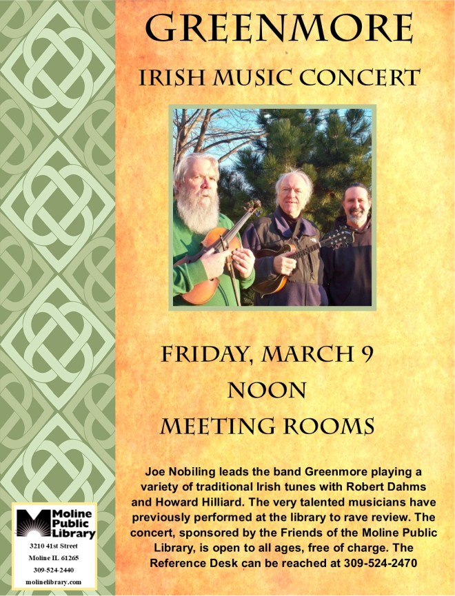 greenmore irish music concert