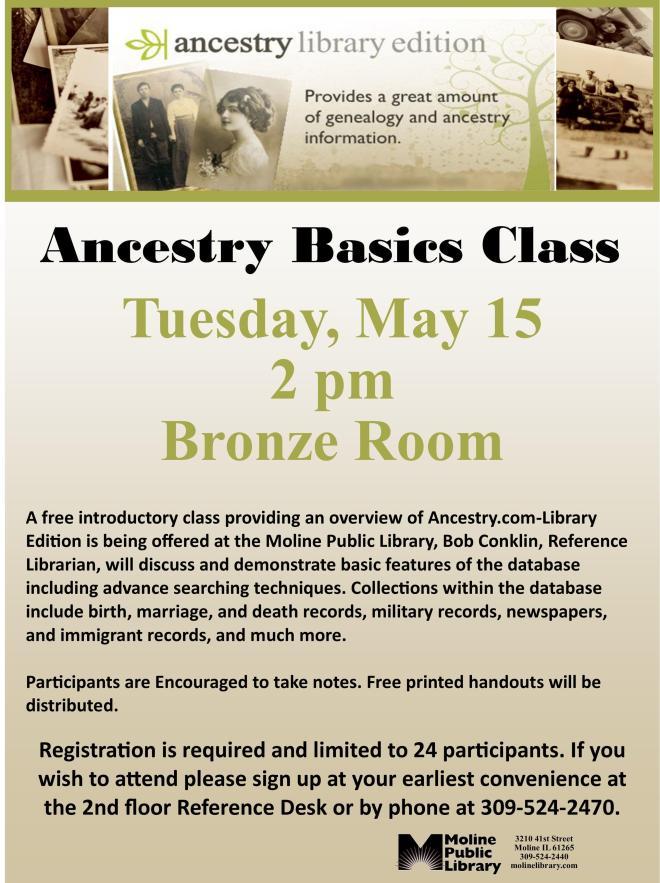 Ancestry Basics