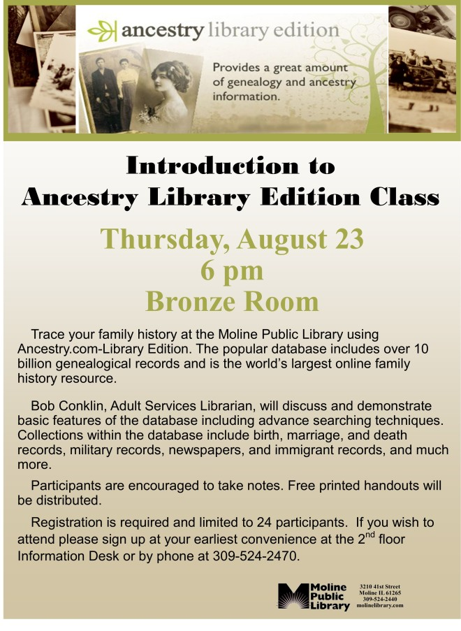 ancestry class