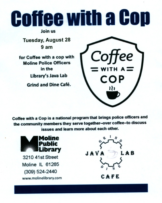 Coffee with a Cop 8-18
