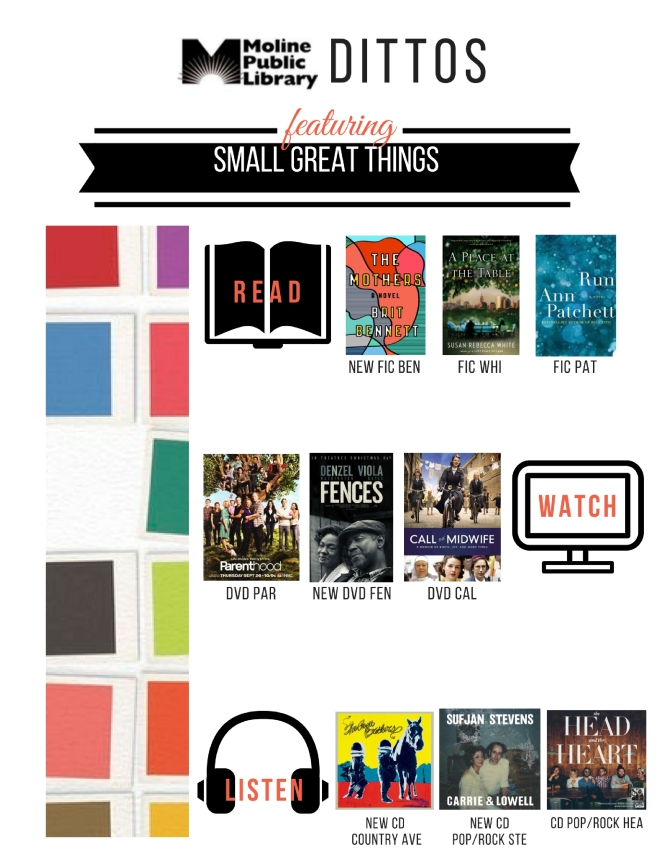Small Great Things Shelf End Ditto