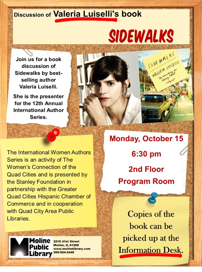 sidewalks book discussion