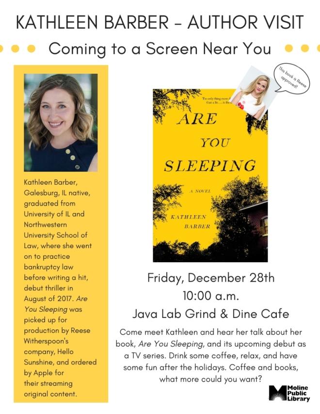 Kathleen Barber Author Visit