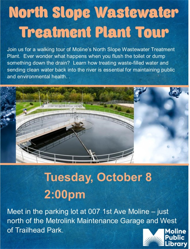 North Slope Wastewater Treatment Plant Tour