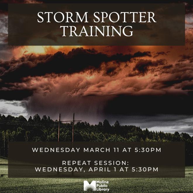 storm spotter training social media